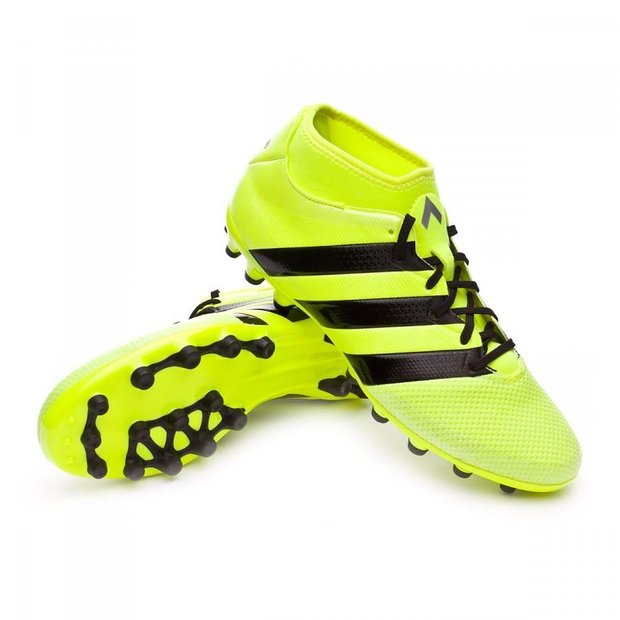 43af546c55ad adidas Ace 16.3 Primemesh AG Football Boots. Solar yellow-Black-Silver ...