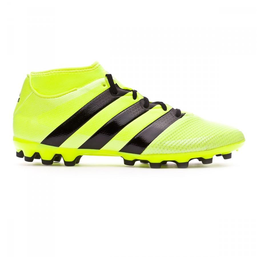 552bfec06edf Football Boots adidas Ace 16.3 Primemesh AG Solar yellow-Black-Silver  metallic - Football store Fútbol Emotion