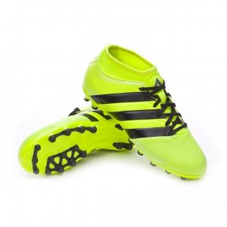 Chuteira  adidas Jr Ace 16.3 Primemesh AG Solar yellow-Black-Silver metallic