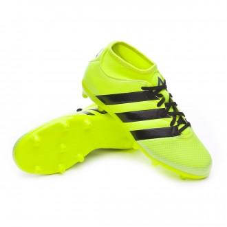 Chuteira  adidas Jr Ace 16.3 Primemesh FG/AG Solar yellow-Black-Silver metallic