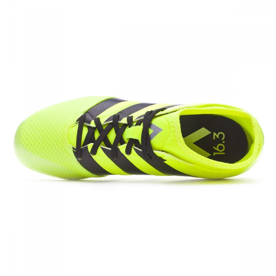 6e40e3a1423 Football Boots adidas Ace 16.3 Primemesh FG AG Kids Solar yellow-Black-Silver  metallic - Tienda de fútbol Fútbol Emotion