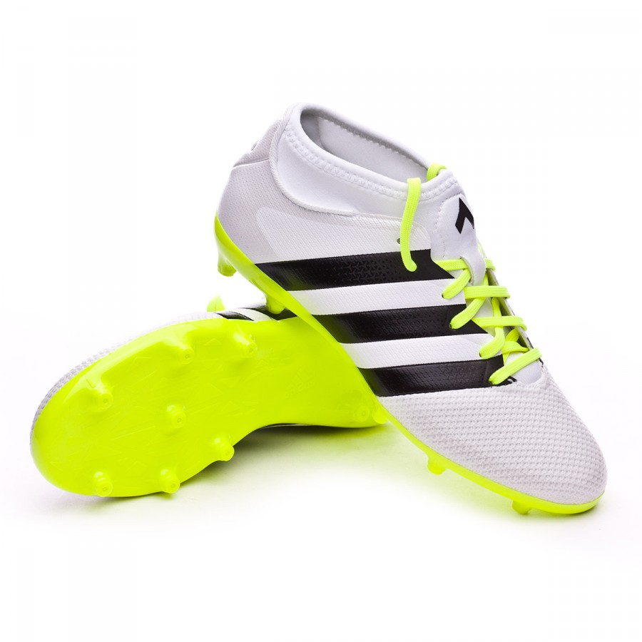 new product c2492 7d1b8 adidas Ace 16.3 Primemesh FGAG Mujer Boot. Solar yellow-Black-Silver ...
