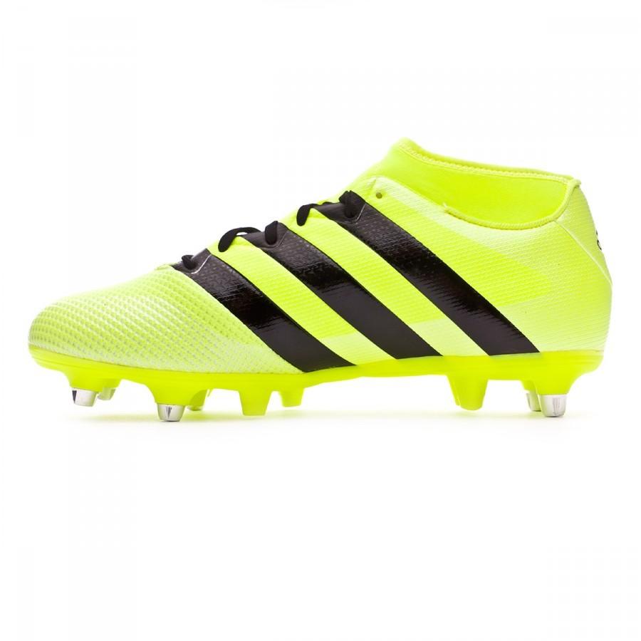 Chuteira adidas Ace 16.3 Primemesh SG Solar yellow-Black-Silver metallic -  Loja de futebol Fútbol Emotion afc0809ccd127