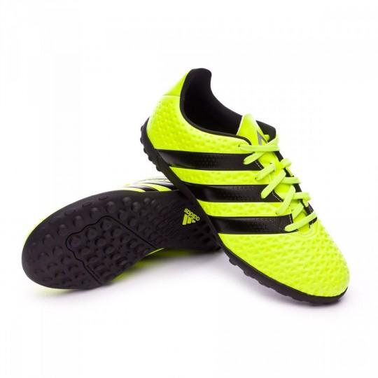 Chuteira  adidas jr Ace 16.4 TF Solar yellow-Black-Silver metallic