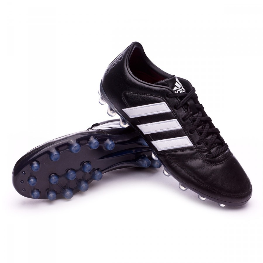 7fe650800b Boot adidas Gloro 16.1 AG Black-White-Matte silver - Football store Fútbol  Emotion