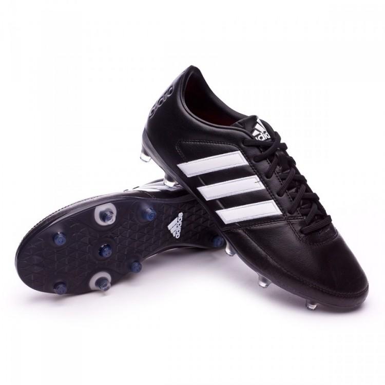 cb85221598a63 Bota de fútbol adidas Gloro 16.1 FG Black-White-Matte silver ...