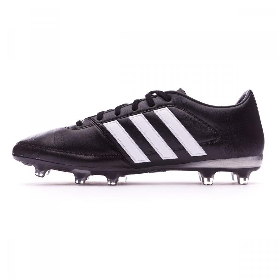 1dca47506 Zapatos de fútbol adidas Gloro 16.1 FG Black-White-Matte silver - Tienda de  fútbol Fútbol Emotion