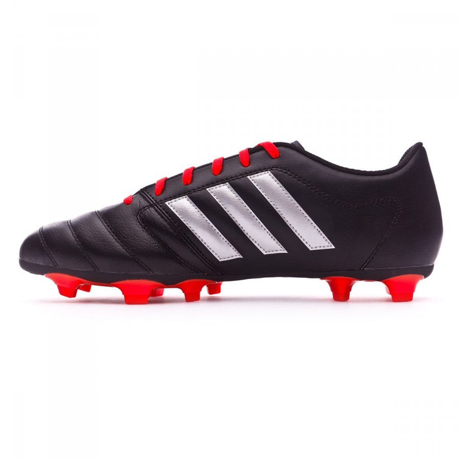 d774d73c3 Football Boots adidas Gloro 16.2 FG Black-Silver metallic-Solar red -  Football store Fútbol Emotion