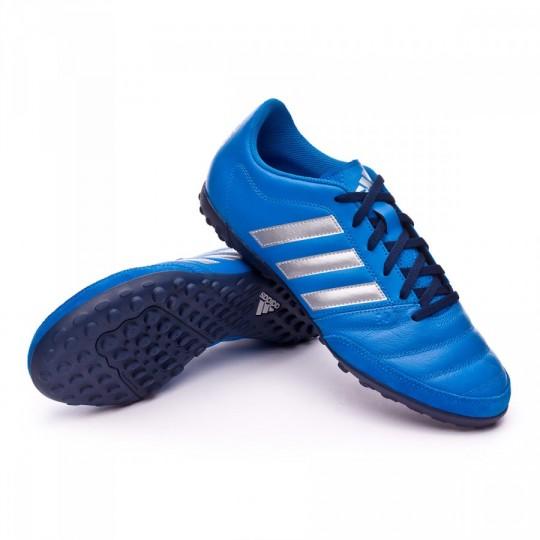 Chuteira  adidas Gloro 16.2 Turf Shock blue-Silver metallic-Collegiate navy