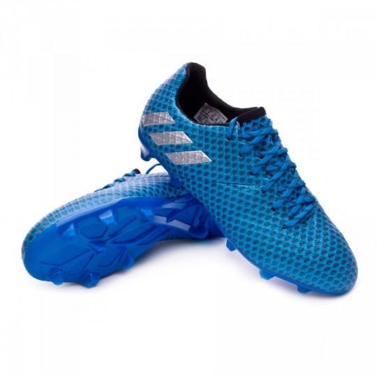 Chaussure  adidas jr Messi 16.1 FG Shock blue-Matte silver-Black