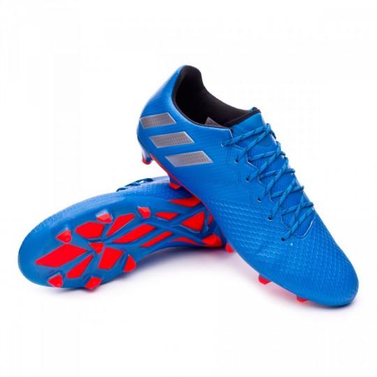 Chaussure  adidas Messi 16.3 FG Shock blue-Matte silver-Black