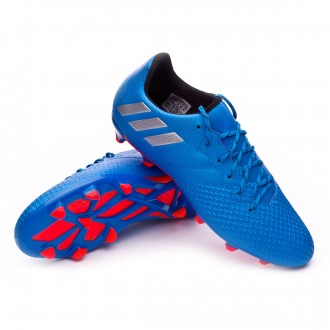 Chuteira  adidas Jr Messi 16.3 FG Shock blue-Matte silver-Black