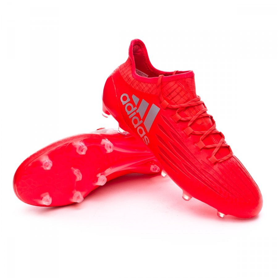 insulto Gastos de envío Secretario  Football Boots adidas X 16.1 FG Solar red-Silver metallic - Football store  Fútbol Emotion