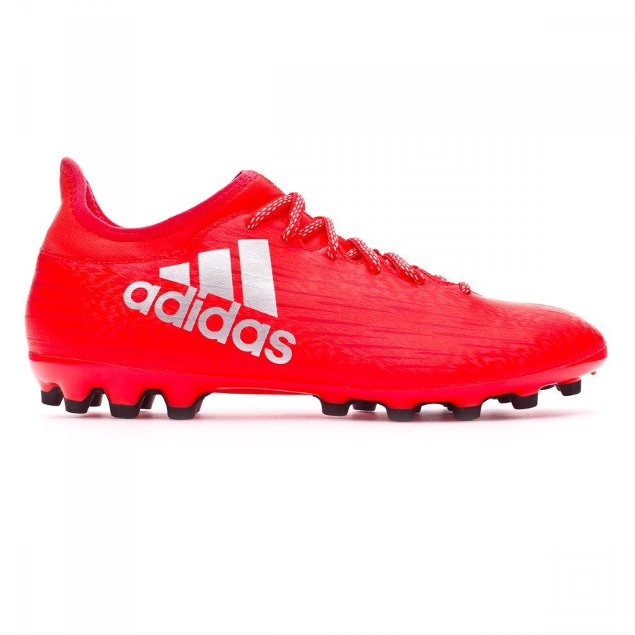 3597ef2bd0855 Scarpe adidas X 16.3 AG Solar red-Silver metallic - Negozio di calcio  Fútbol Emotion