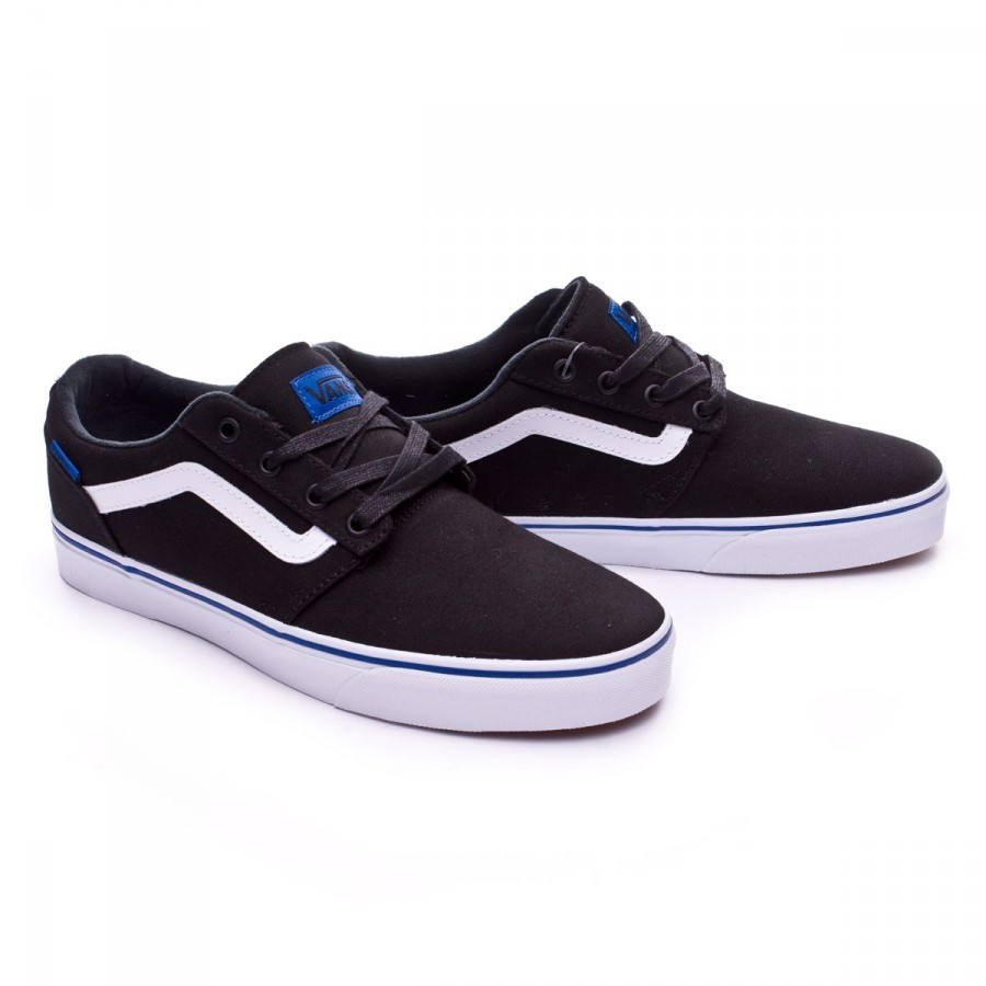 d0c454c2142 Trainers Vans Chapman Stripe Black-Blue - Football store Fútbol Emotion