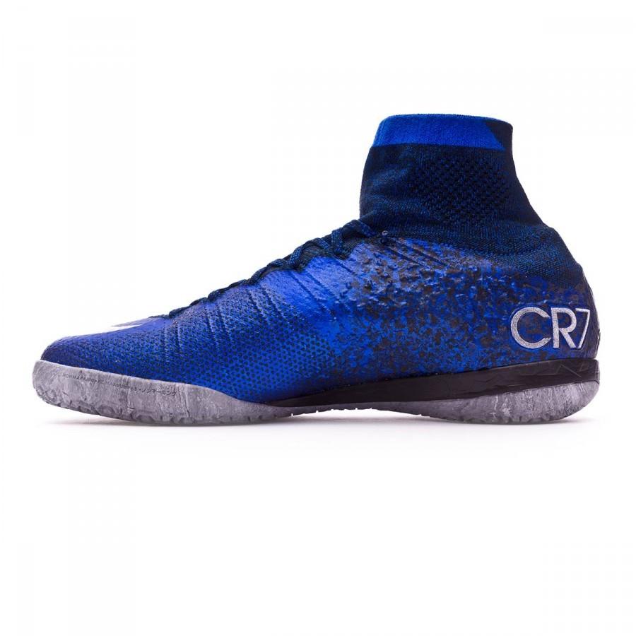 b43772d45b Futsal Boot Nike MercurialX Proximo CR IC Natural Diamond Hyper  cobalt-Black - Football store Fútbol Emotion