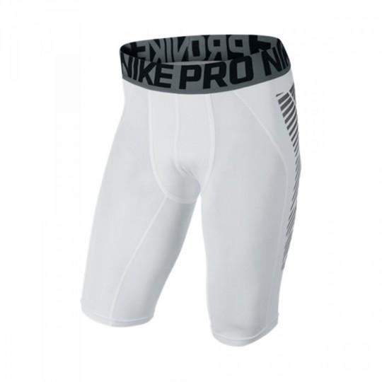 Leggings  Nike F.C. Slider White-Silver