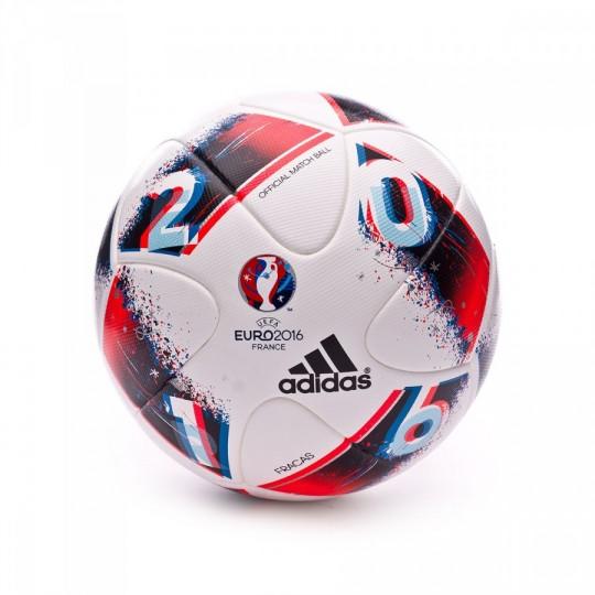 Balón  adidas Euro16 OMB White-Bright blue-Solar red
