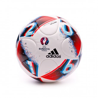 Balón  adidas Euro16 Top Glide White-Bright blue-Solar red