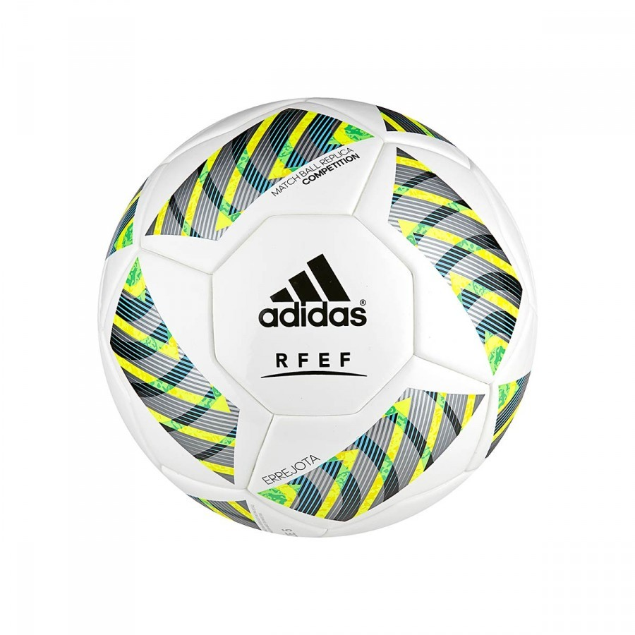 4cf55cc1c0 Bola de Futebol adidas FEF Competition White-Black-Iron metallic ...