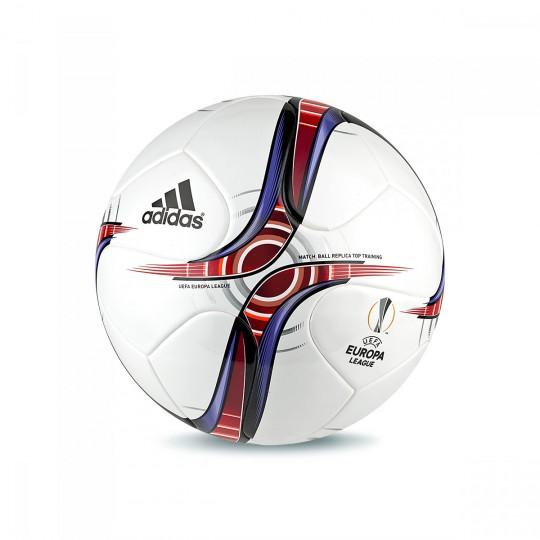 Balón  adidas UEL Top Training White-Scarlet-Collegiate burgundy