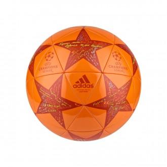 Bola de Futebol  adidas Finale16 Capitano Unity orange-Craft chili-Shock slime