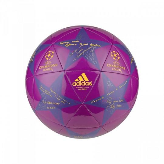 Balón  adidas Finale16 Capitano Shock purple-Solar gold