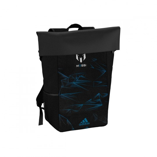 Mochila  adidas Messi K Black-Shock blue