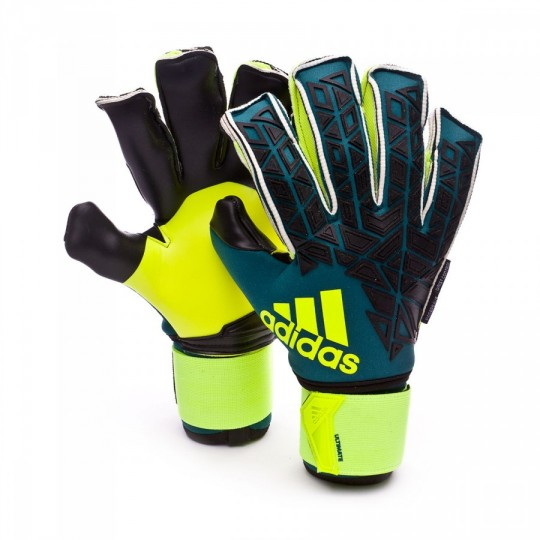 Luvas  adidas Ace Transition Ultimate Tech green-Black-Solar yellow