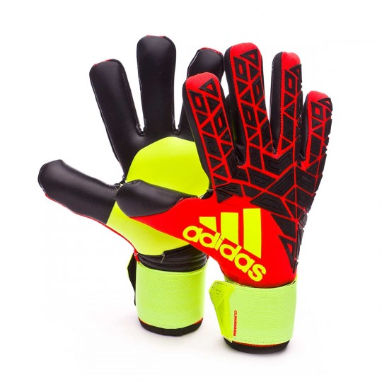 Guante  adidas Ace Transition Climawarm Solar red-Black-Solar yellow