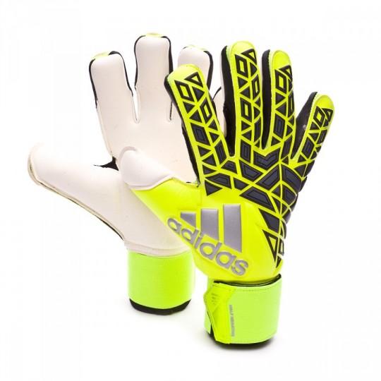 Luvas  adidas Ace Half Negative Solar yellow-Black-Onix