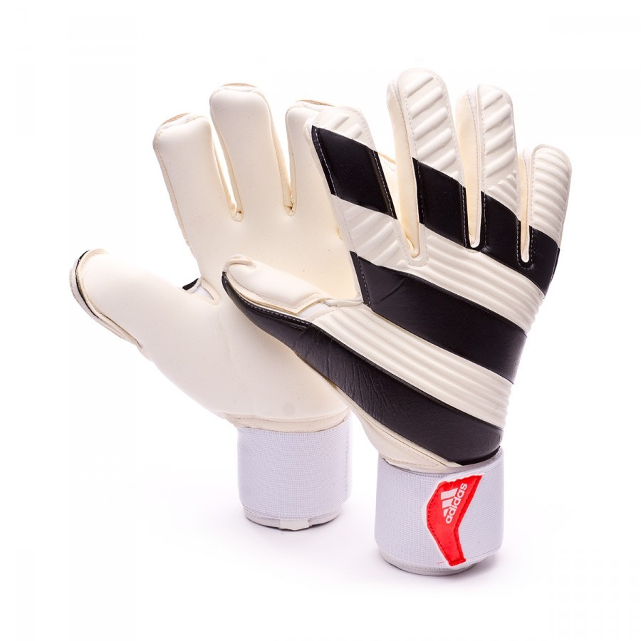 Glove adidas Classic Pro White-Black-Solar red - Soloporteros es ... 812c39b8f