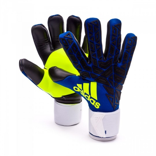 Guante  adidas Ace Transition Pro Iker Casillas Blue-Black-Solar yellow