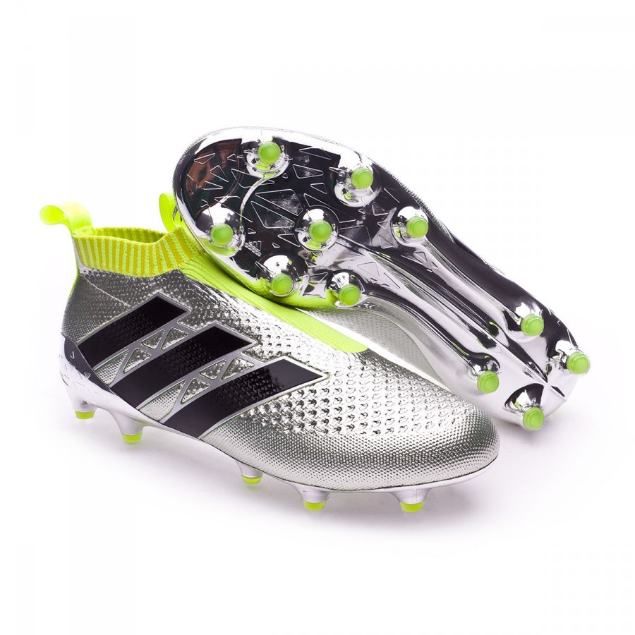 Chaussure de foot adidas Ace 16+ Purecontrol Silver metallic