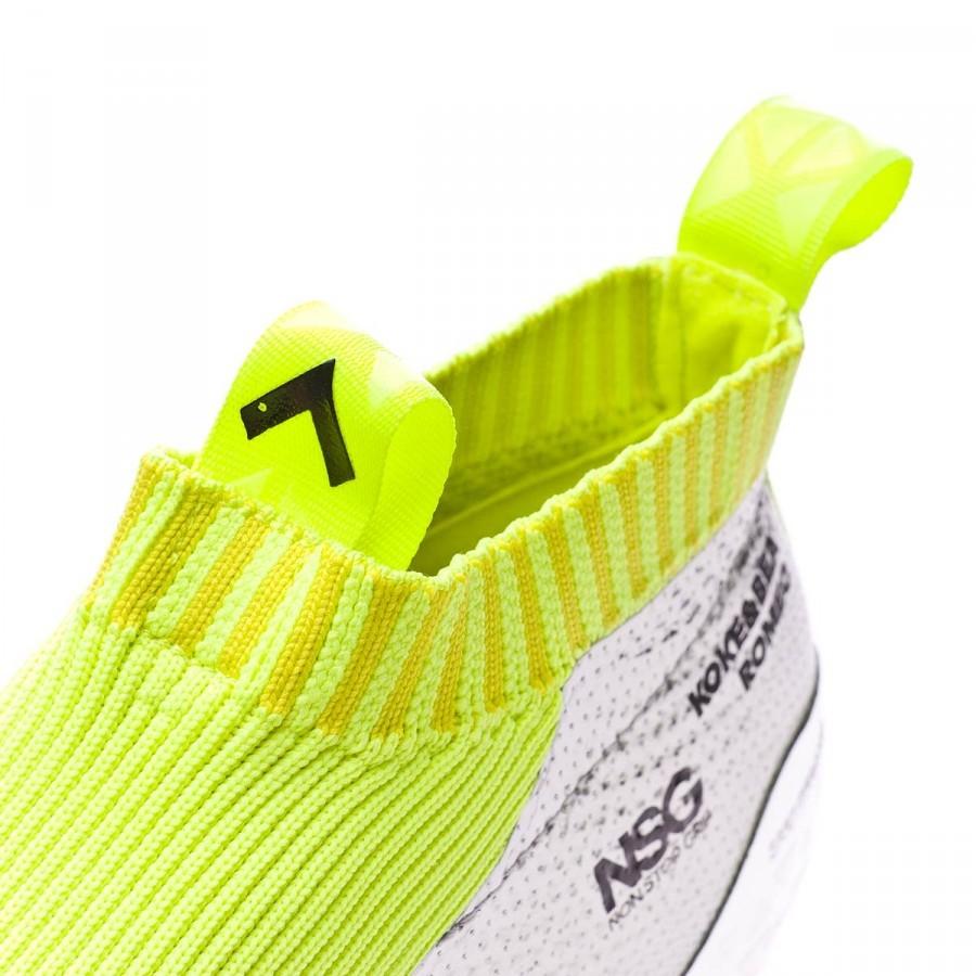 585adac47803 Football Boots adidas Ace 16+ Purecontrol Silver metallic-Black-Solar yellow  - Football store Fútbol Emotion