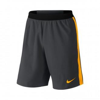 Calções  Nike Strike Woven Anthacite-Laser orange
