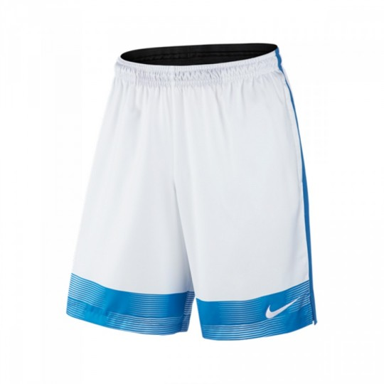 Pantalón corto  Nike Strike Printed Graphic Woven 2 White-Photo blue