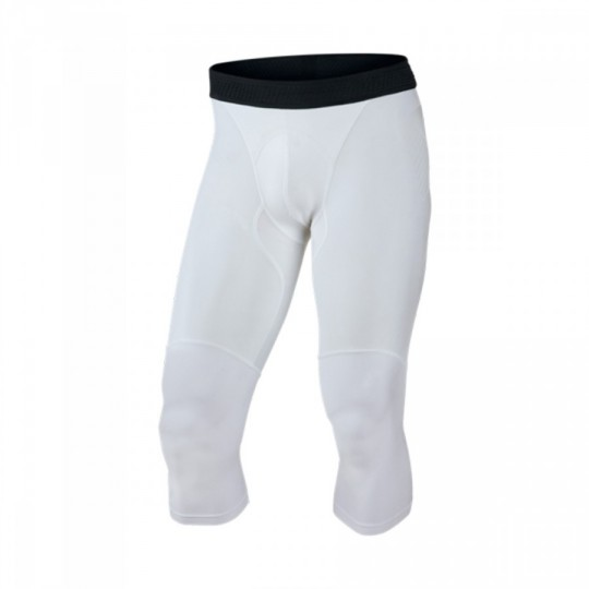 Leggings  Nike Vapor Slide Elite 3/4 White-Cool grey