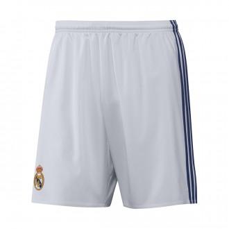 Pantalón corto  adidas Real Madrid Primera Equipación 2016-2017 Crystal white-Raw purple