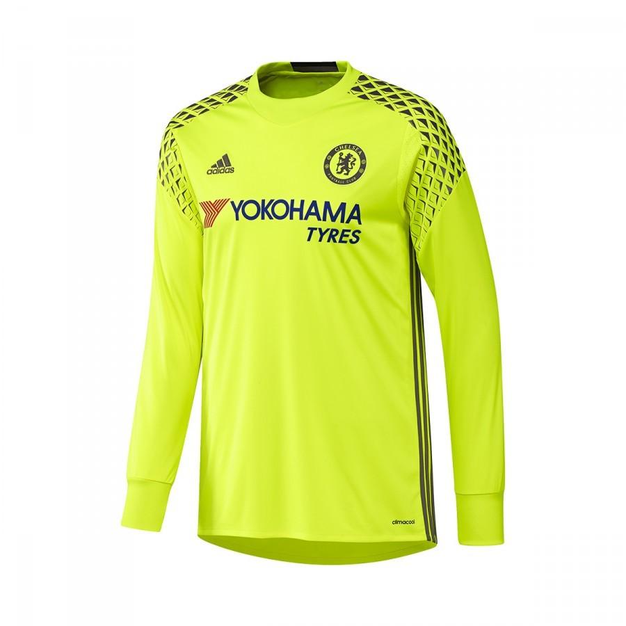 e9fe6c9cd Jersey adidas Chelsea FC Portero 2016-2017 Solar yellow-Granite ...