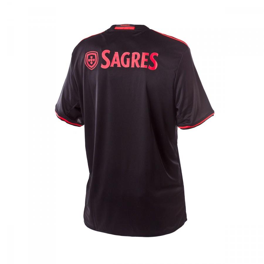 Camisola adidas SL Benfica Alternativo 2016-2017 Black-Bright red ... 6f69d82140674