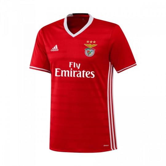 Camiseta  adidas SL Benfica Home 2016-2017 Red-White