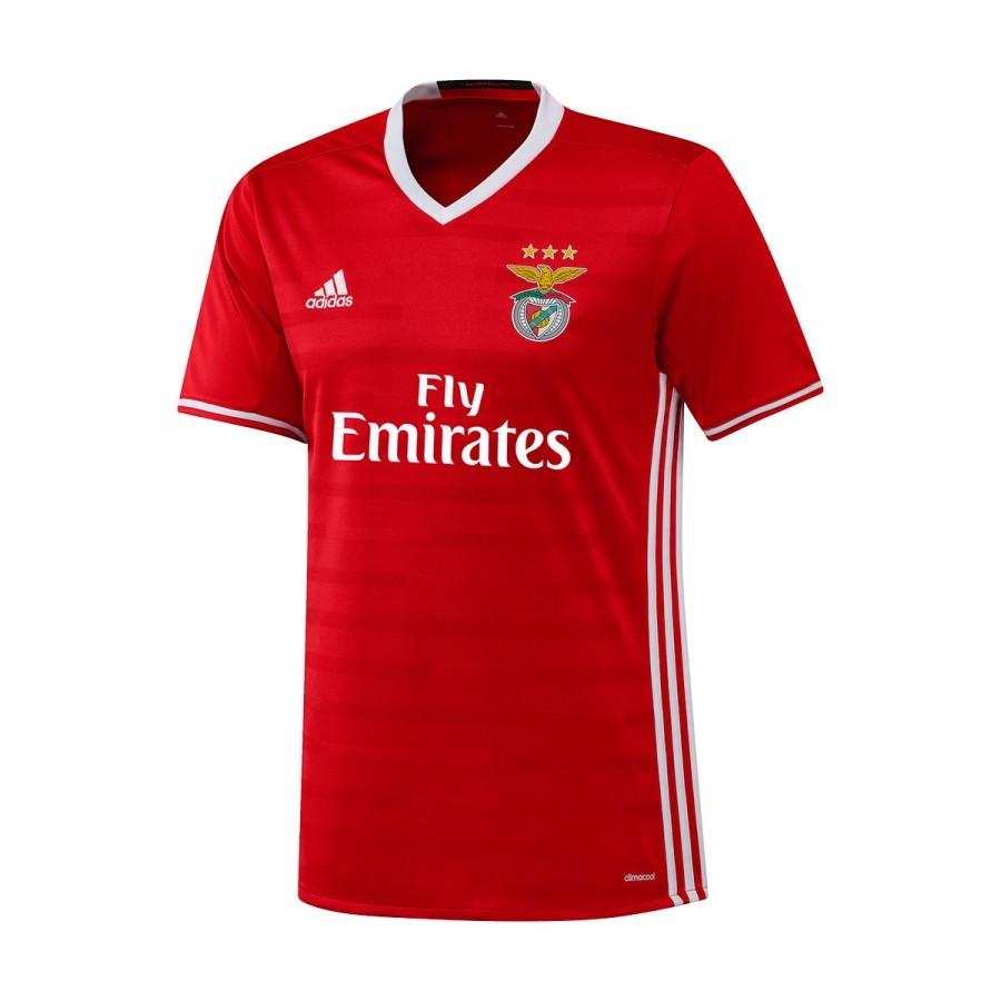 e9a4bbf60ea36 Camisola adidas SL Benfica Principal 2016-2017 Red-White - Loja de futebol  Fútbol Emotion