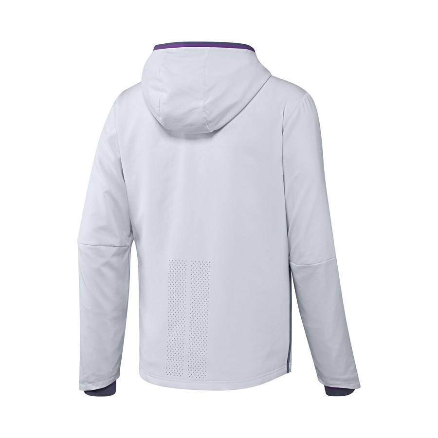Chamarra adidas Real Madrid Pre-Match 2016-2017 Crystal white-Raw purple -  Soloporteros es ahora Fútbol Emotion 520b00ecbe5aa