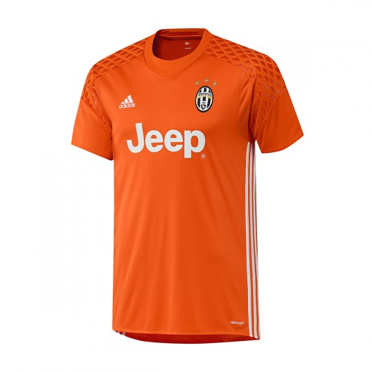 Camiseta  adidas Juventus Home Portero 2016-2017 Orange-White-Bold orange