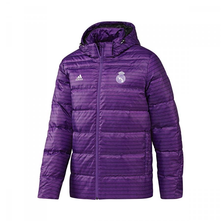 Chaquetón adidas Real Madrid 2016-2017 Ray purple-Crystal white -  Soloporteros es ahora Fútbol Emotion 0fbbef8620415
