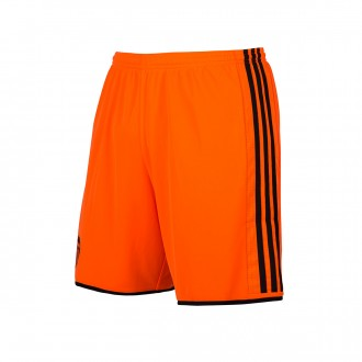 Pantalón corto  adidas Valencia CF Segunda Equipación 2016-2017 Niño Solar orange-Black