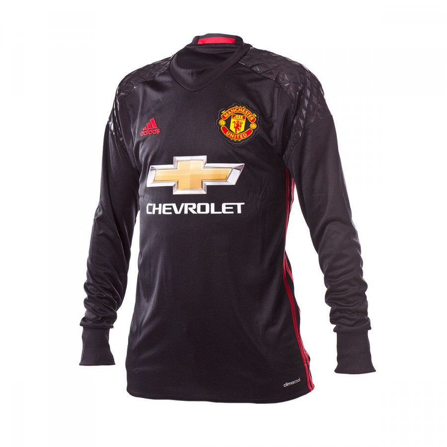 be3c03ecf Jersey adidas Jr Manchester United Home Portero 2016-2017 Black-Real ...