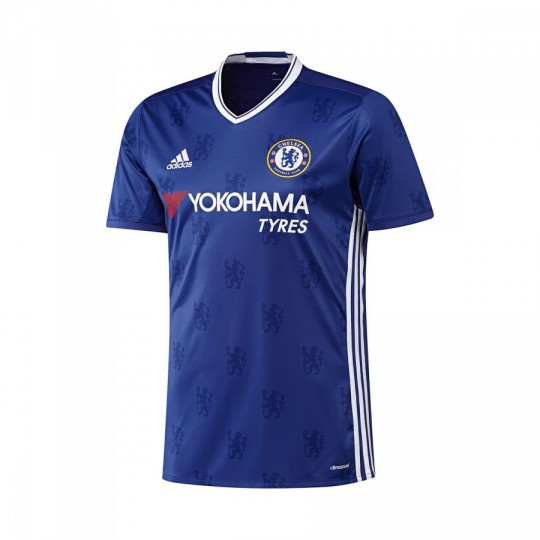 Camiseta  adidas jr Chelsea FC Home 2016-2017 Blue-White