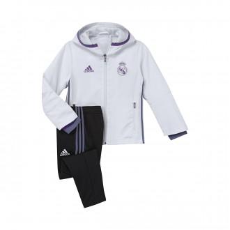 Chándal  adidas Real Madrid 2016-2017 Niño Crystal white-Raw purple